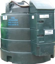 Gizo dwupłaszczowe zbiorniki na paliwo
