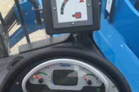 wskaźniki i system kontroli wagi ładunku