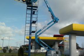 GIZO podnośnik przegubowy GENIE Z 4525 JRT diesel 4x4_