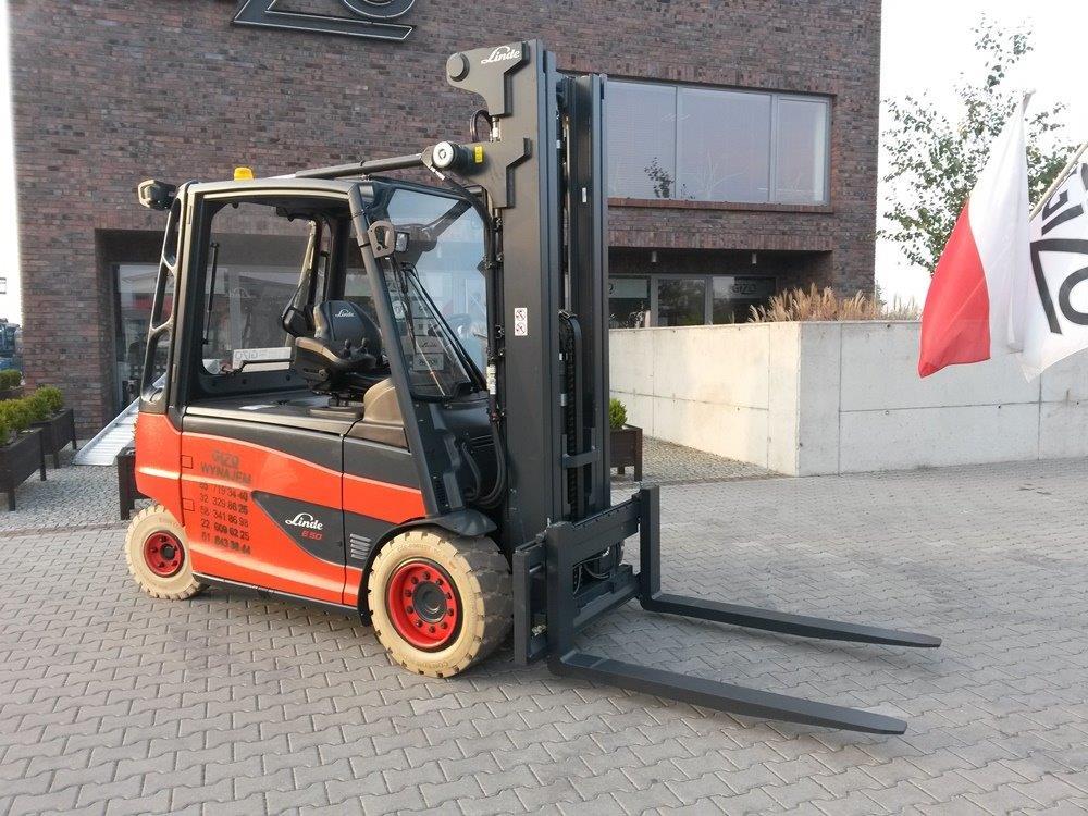 Młodzieńczy Gizo wózek widłowy Linde E50HL - seria 388 IZ44