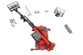 Gizo obrotowa ładowarka teleskopowa Manitou MRT 1840