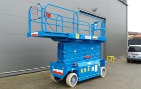 GIZO - AB Lift Polska - podnosnik nozycowy akumulatorowy AB S 175-12 E2WD008
